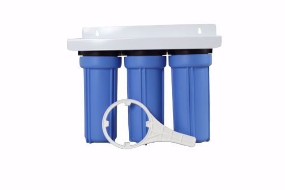 Picture of 10 x 2.5 Plastic Housing Sets Triple Stage 1/2 In-Out