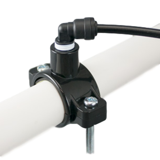 Picture of Drain Saddle with 1/4 QC fittings