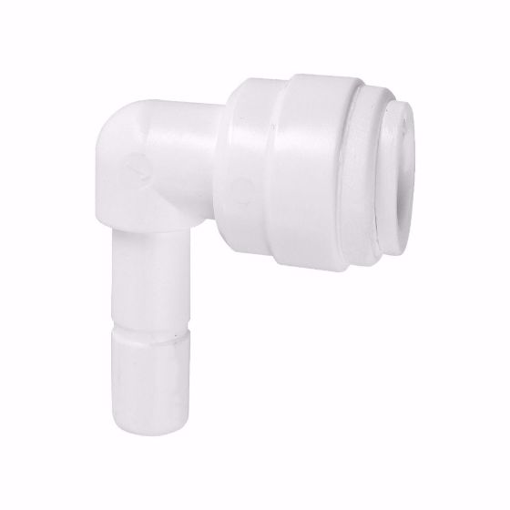 Picture of Plug in Elbow 3/8 QC x 1/4 STEM